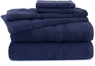 Martex 6-piece Purity Antimicrobial Towel Set