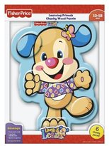 Fisher-Price Laugh & Learn Puppy Body Parts Wood Puzzle 6 pcs