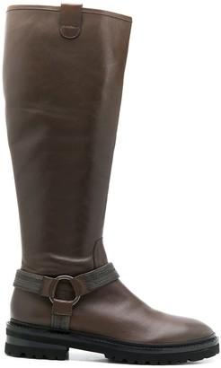 Steffen Schraut Stud-Embellished Boots