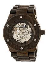 Earth Grand Mesa Collection ETHEW3102 Unisex Wood Watch with Wood Bracelet-Style Band
