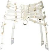 Bordelle webbed suspender belt - women - Polyamide/Spandex/Elastane - S