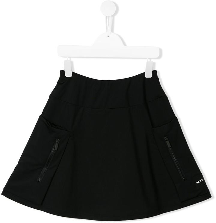 DKNY TEEN short A-line skirt