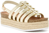 Nature Breeze Gage Platform Slingback Sandal