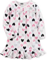 Carter's Heart-Print Nightgown, Little Girls (4-6X) & Big Girls (7-16)