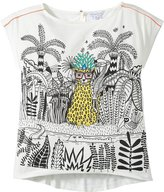 Little Marc Jacobs Panter Print Tee-Shirt (Toddler/Kid) - White-2A
