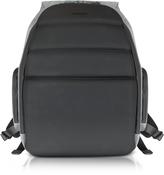 "Giorgio Fedon Ninja Black Coated Jersey Backpack w/13"" Laptop Compartment"