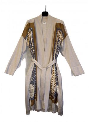 Hermes Beige Cashmere Knitwear