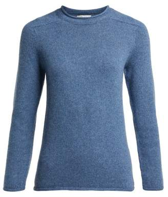 The Row Rickie Cashmere Sweater - Womens - Blue