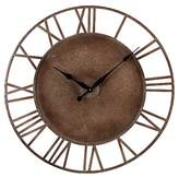 Lazy Susan 31.5 in. Parity Bronze Wall Clock