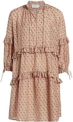MUNTHE Maggie Floral Shift Dress