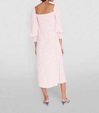Faithfull The Brand Floral Mathilde Midi Dress