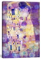 iCanvas 'The Kiss II' Giclee Print Canvas Art