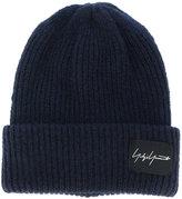 Yohji Yamamoto classic knitted beanie hat - men - Acrylic/Nylon/Wool - One Size