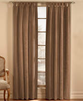 CHF CLOSEOUT! Loftstyle Faux Suede Window Treatment Collection