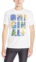 Original Penguin Men's Short Sleeve Neon Palm T-Shirt