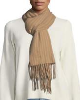 Rag & Bone Classic Wool Scarf w/ Tassel Edges