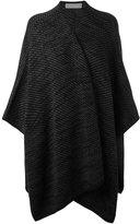 MICHAEL Michael Kors asymmetric style poncho