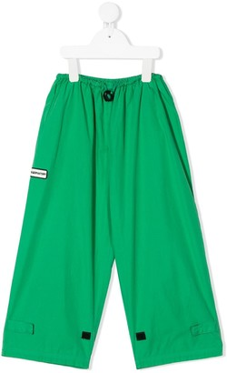 The Animals Observatory Drawstring Wide-Leg Trousers