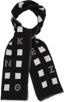 Kenzo Logo Wool Scarf