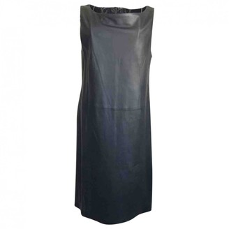 Raoul Black Leather Dress for Women