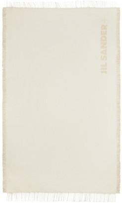 Jil Sander Off-White and Beach Blanket