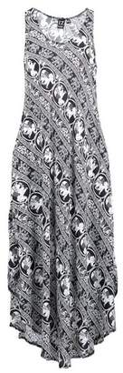 Dorothy Perkins Womens *Izabel London Multi Colour Elephant Print Summer Maxi Dress, Multi Colour