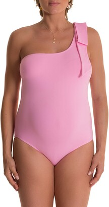 Pez D'or Abril One-Shoulder One-Piece Maternity Swimsuit