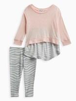 Splendid Baby Girl Zebra Print Sweatshirt Set
