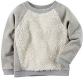 Carter's Girls 4-8 Sherpa Sweatshirt