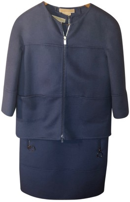 Michael Kors Blue Wool Jumpsuits