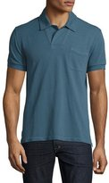 Tom Ford Short-Sleeve Polo Shirt, Cadet Teal