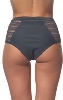 Rip Curl Women's Designer Surf Mesh High Waist Bikini Bottoms