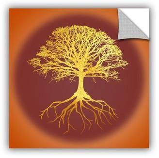 ArtWall Tree Of Life II Removable Wall Art Mural