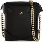 Manu Atelier Micro Pristine leather shoulder bag