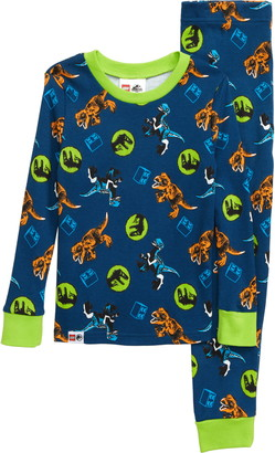 Lego Jurassic World Fitted Two-Piece Pajamas