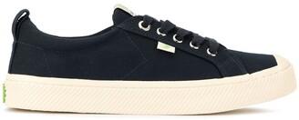 Cariuma OCA low navy canvas sneakers