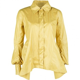 Louis Vuitton Yellow Polyester Tops