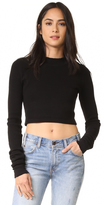 Cotton Citizen Monaco Crop Long Sleeve Tee