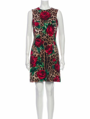 Dolce & Gabbana Wool Mini Dress w/ Tags Wool