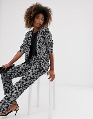 Vila floral suit trousers-Multi