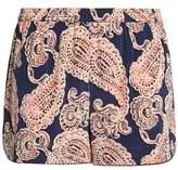 Stella McCartney Poppy Snoozing Printed Stretch-Silk Pajama Shorts
