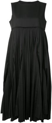 Comme Des Garçons Tricot Sleeveless Flared Midi Dress