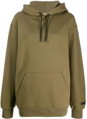 Reebok x Victoria Beckham embroidered collaboration logo hoodie
