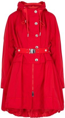 High Paragon red shell coat