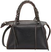 Elena Ghisellini Gabria Sensua Mini Satchel Bag, Black