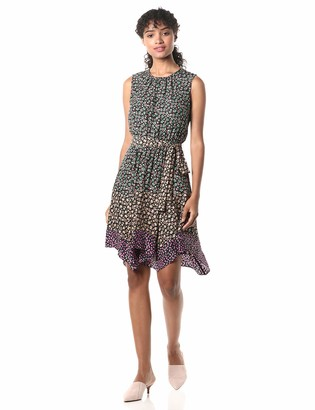 Rebecca Taylor Women's Sleeveless Floral Midi Dress