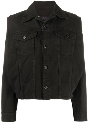 MM6 MAISON MARGIELA Side Slit Denim Jacket
