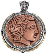 Konstantino Men's Aeolus Two-Sided Apollo Pendant w/Spinel