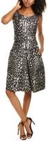 Thumbnail for your product : Samantha Sung Rachel Silk A-Line Dress