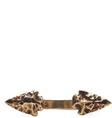 Pamela Love Double Mini Arrowhead Cuff in Bronze